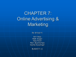 Online Advertising: Banner Ads