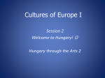 Cultures of Europe I