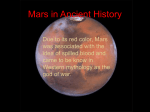 Mars perceptions from Ancient Times