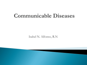 Communicable Diseases final