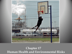 Chapter 17 Human Health and Environmental Risks