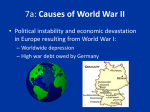 7a: Causes of World War II