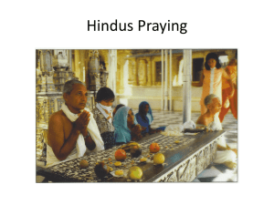 Hindus Praying - washington131
