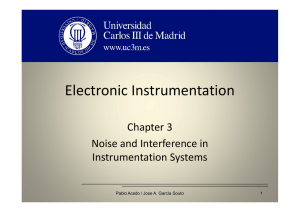 OCW_3_Electronic Instrumentation Noise and Interference