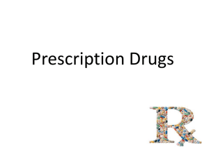 Prescription Drugs (teacher copy)
