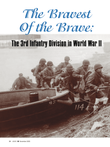 The 3rd Infantry Division in World War II