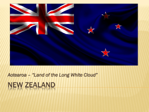 NEW ZEALAND - Academic Web Services