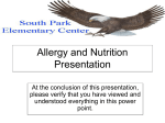Allergy PowerPoint