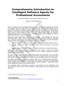 Comprehensive Introduction to Intelligent Software Agents for