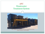 APC Wastewater Treatment System