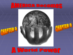 America Become a World Power 2015