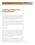 Construction Methods and Building Materials