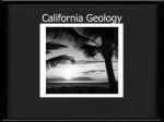 California Geology - PSUSDscienceresources