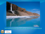 Weathering, Erosion and Deposition Presentation (PowerPoint)