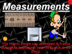 Measurements_Honors