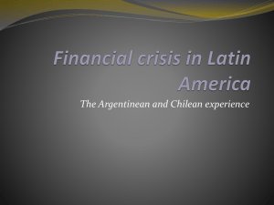 Financial crisis in Latin America