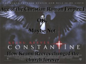 Age of the Christian Roman Empire I