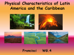 Physical Characteristics of Latin America and the Caribbean