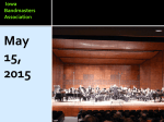 2015_Stamp Keynote - Iowa Bandmasters Association