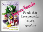 Superfoods - Issaquah Connect