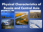 Physical Characteristics of Russia and Central Asia