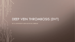 Deep Vein Thrombosis (DVT) - Catherine Heykoop