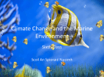 Climate Change and the Marine Environment