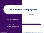 Expert Systems and DSS