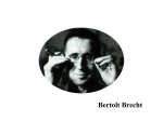 Brecht`s stylistic departure from naturalism: key features and effects