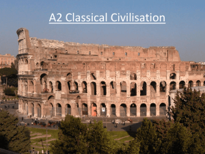The Emperors of Rome - Aquinas Classical Civilisation