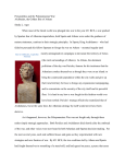 Personalities and the Peloponnesian War: Alcibiades