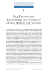 Chapter 1 - Drug Discovery and Development: An Overview of