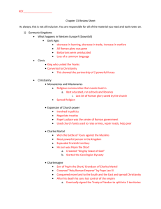 Chapter 13 Review Sheet-KEY - Bishop McGann
