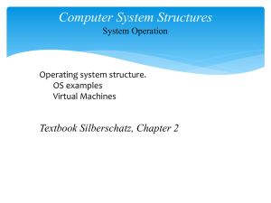7.3.3. Computer System Structures