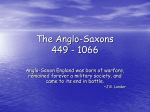 The Anglo-Saxon Powerpoint