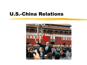PRC`s International Relations