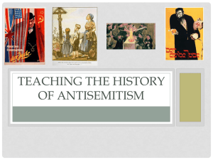 A brief History of Antisemitism in Europe