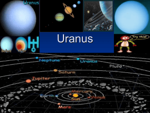 Uranus - Our Lady of Consolation National School