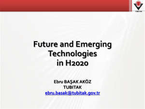 FET in Horizon 2020