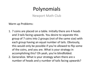 Complex Numbers and Polynomials