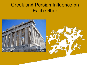 Ch.4 Greece and Persia powerpoint