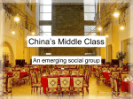 China`s Middle Class