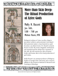 The Ritual Production of Aztec Gods Molly H. Bassett
