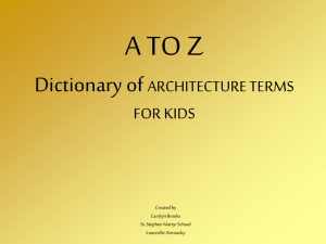 a to z architecture for kids