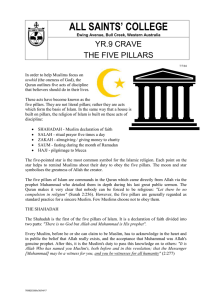 The Five Pillars of Islam - Dialogue Australasia Network