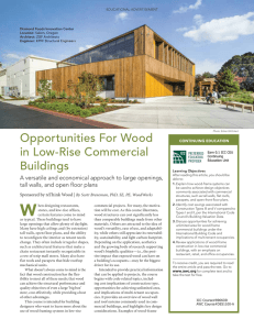 Opportunities For Wood in Low