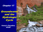 Groundwater and the Hydrologic Cycle