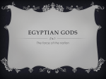 Gods of Egypt - Johnson Graphic Design