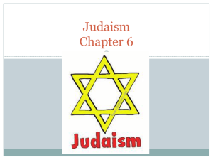 Judaism Chapter 6