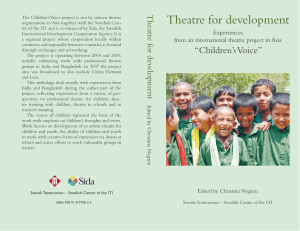 Theatre for development
